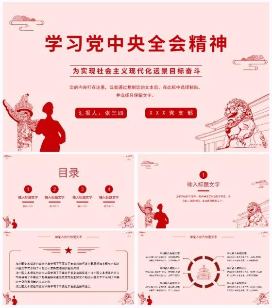 学习党中央全会精神