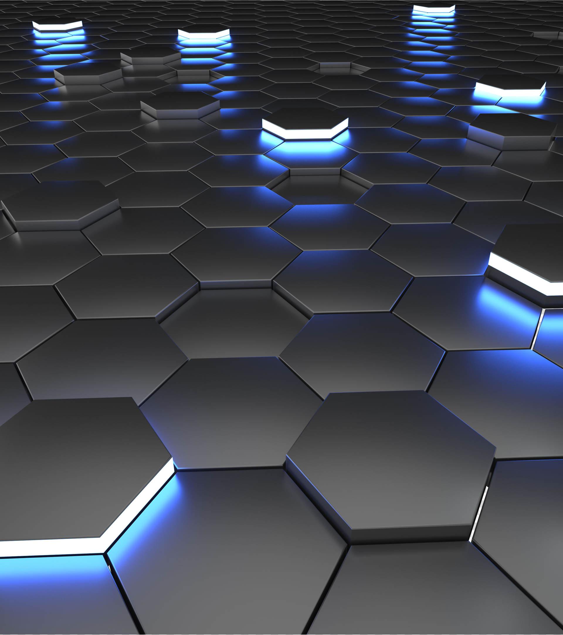 商务ppt元素系列3D发光科技感几何体