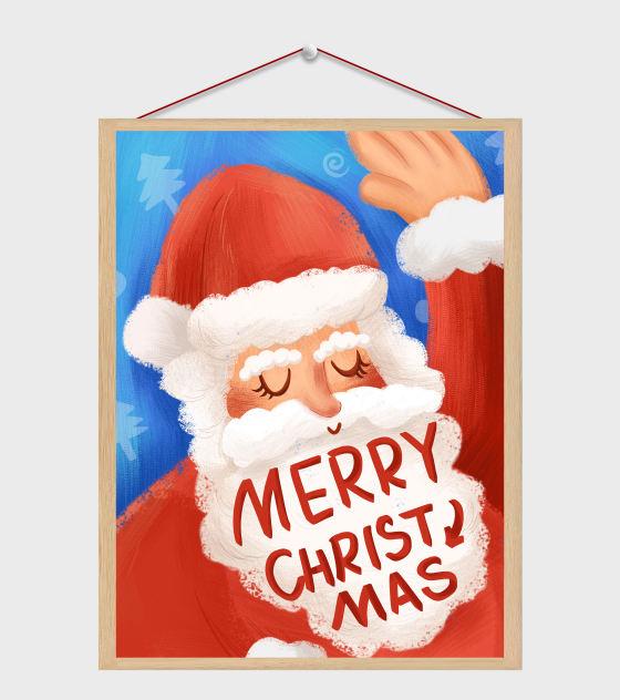 圣诞老人插画