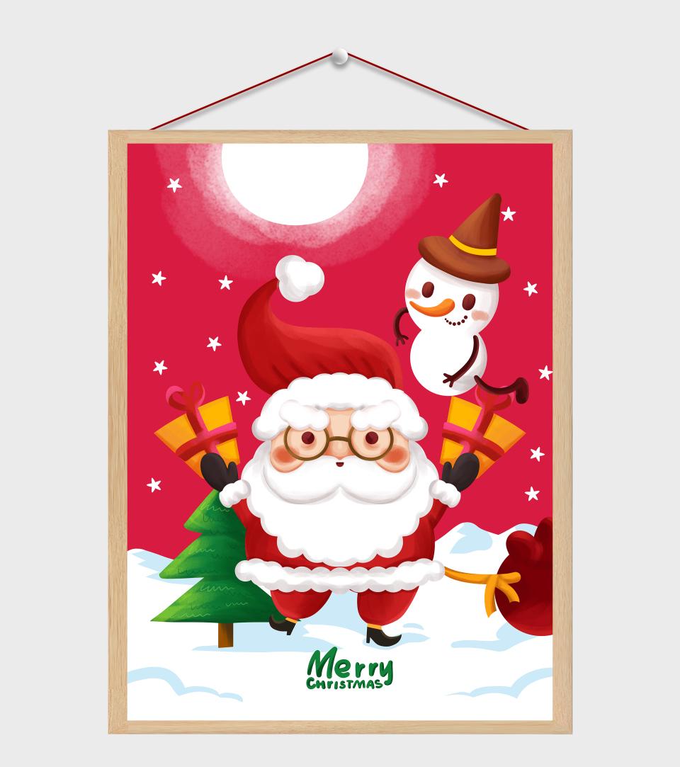 圣诞老人发礼物