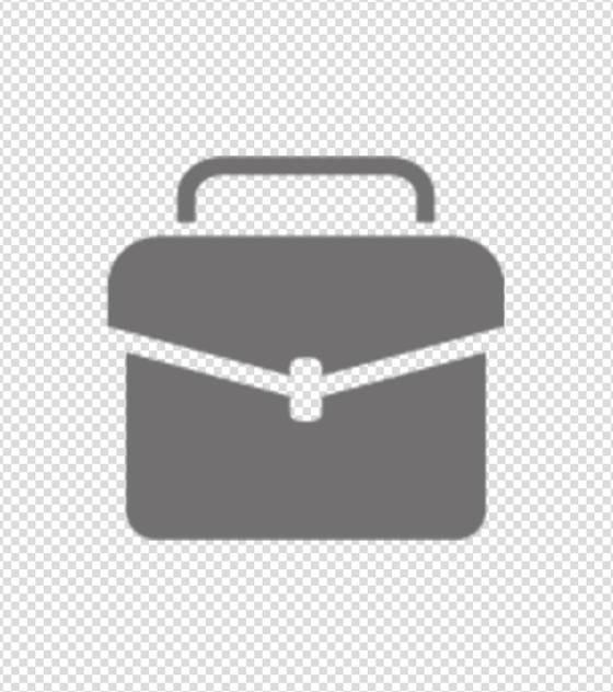 灰色工具箱图标
