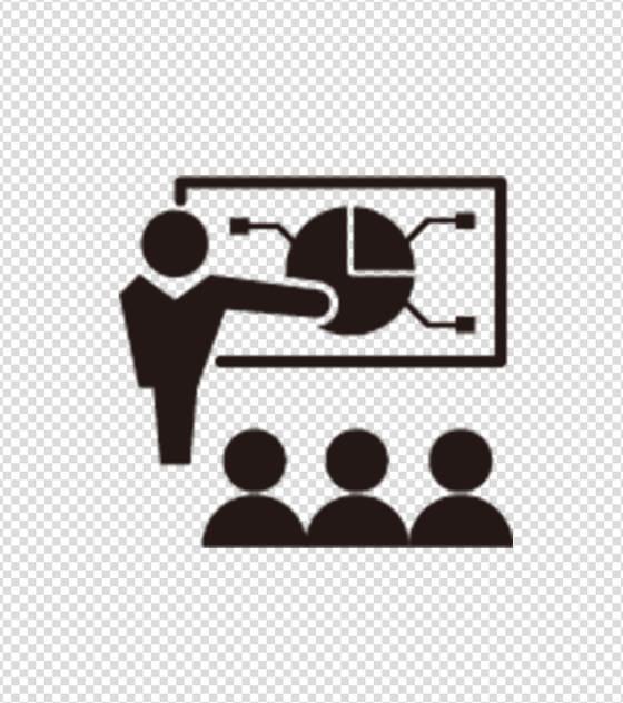 黑色会议图标