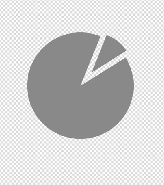 灰色圆形数据分析