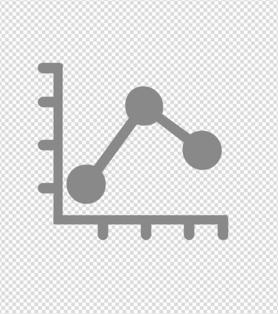灰色数据变化图标