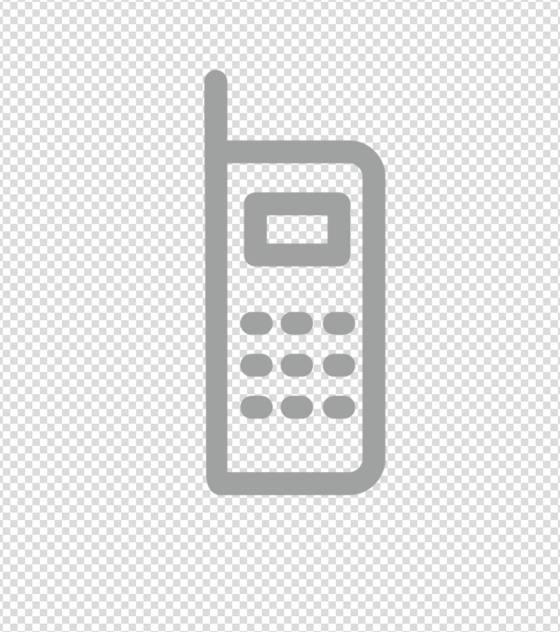 灰色电话图标