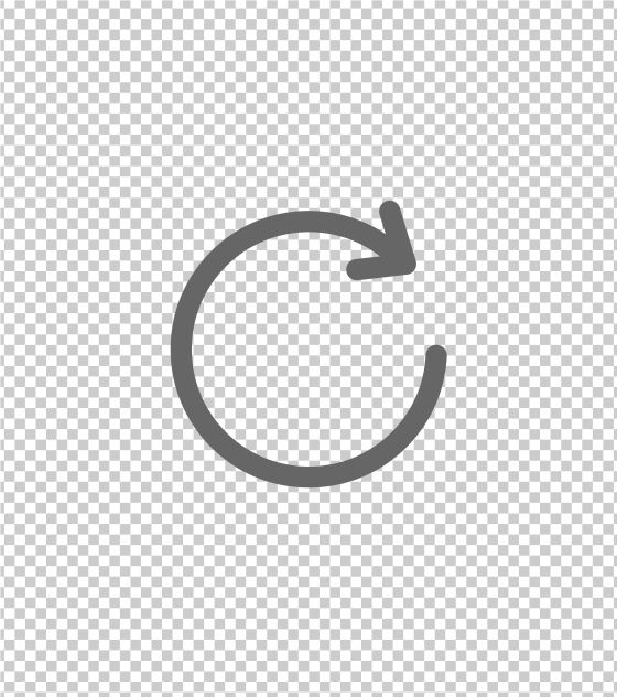 圆形箭头循环图标