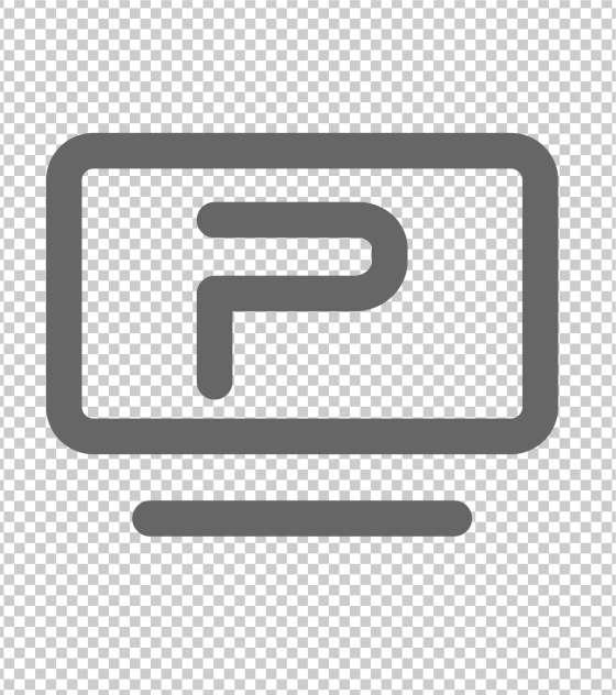 电脑PPT总结办公图标