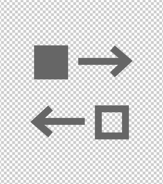 方形文件传输标志