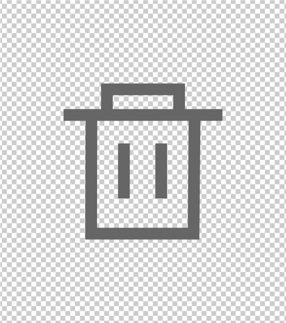 垃圾箱回收站标志