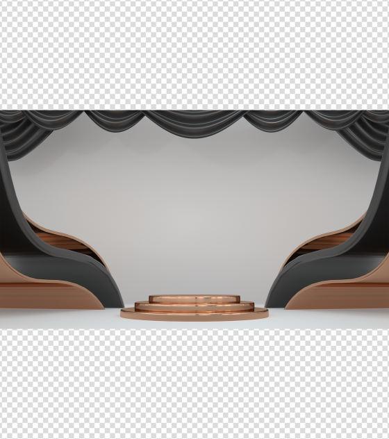 3D高端创意PPT背景模板