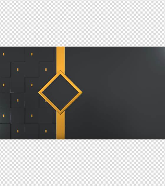 黑金大气PPT背景模板