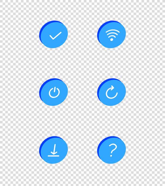标志按钮图标