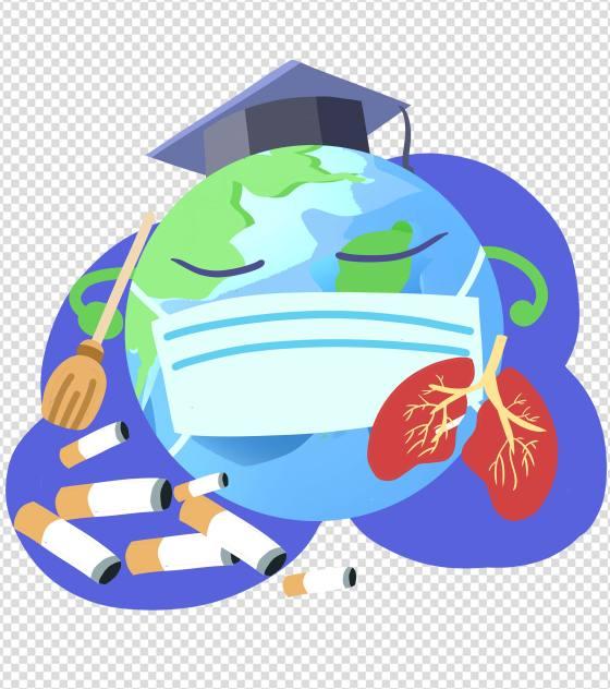 蓝色地球世界禁烟日