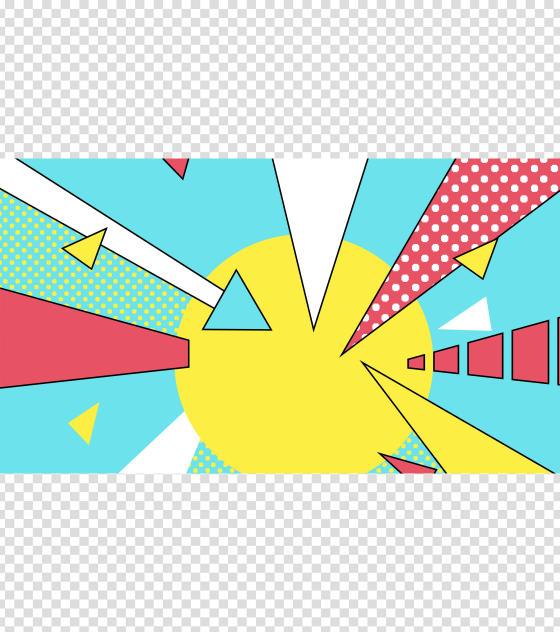 彩色扁平风创意PPT背景模板
