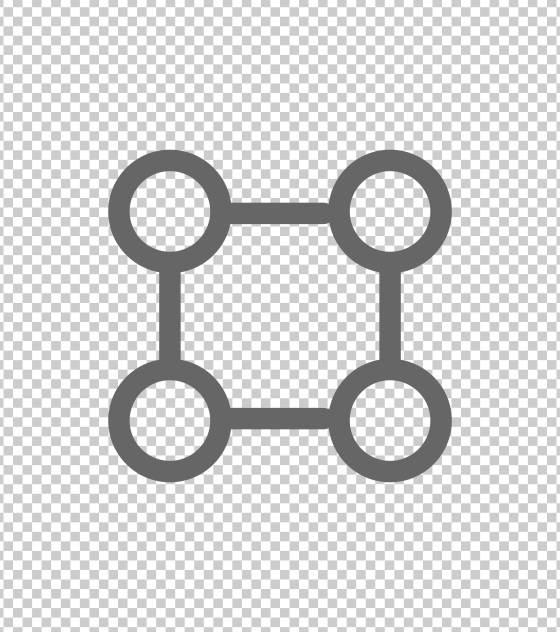 方形四点图标总结