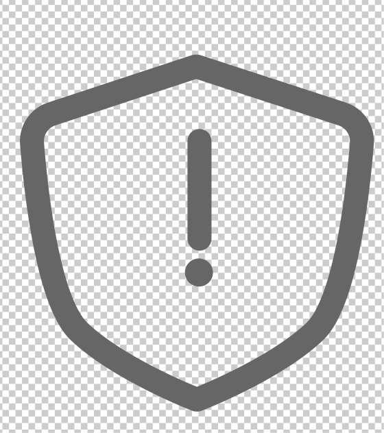 盾牌叹号防护商业