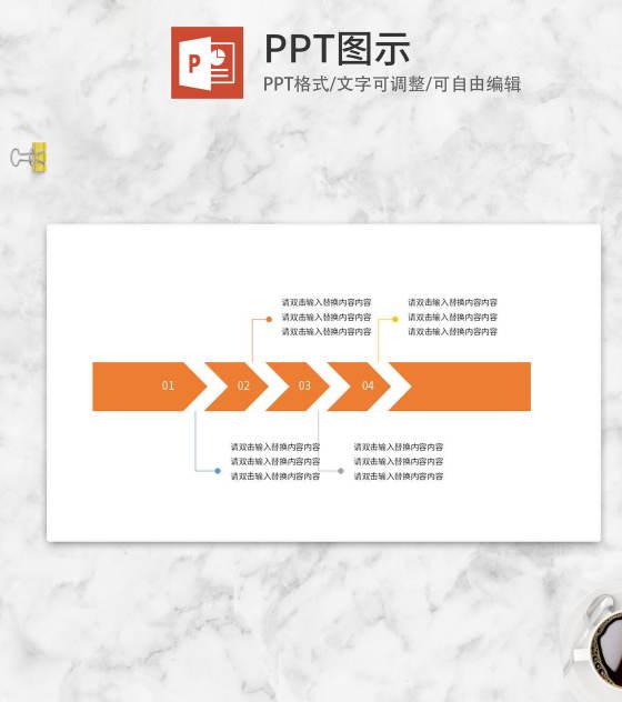 橙色箭头流程管理介绍