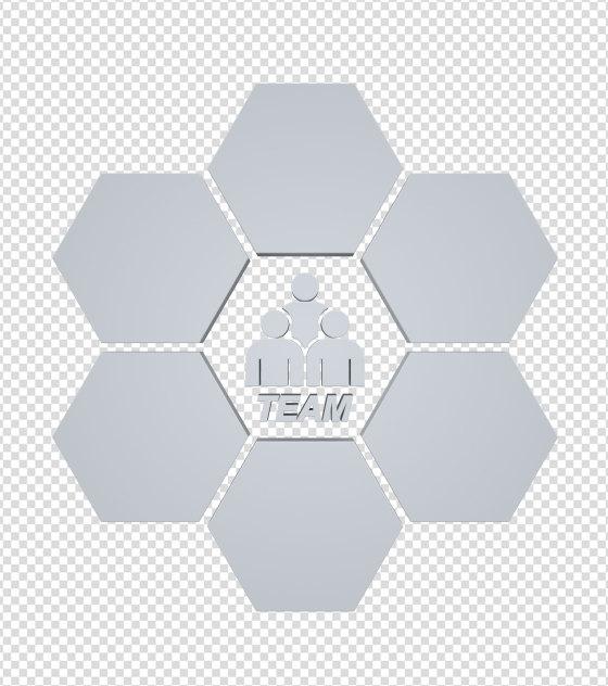 商务ppt元素系列3D团队图标