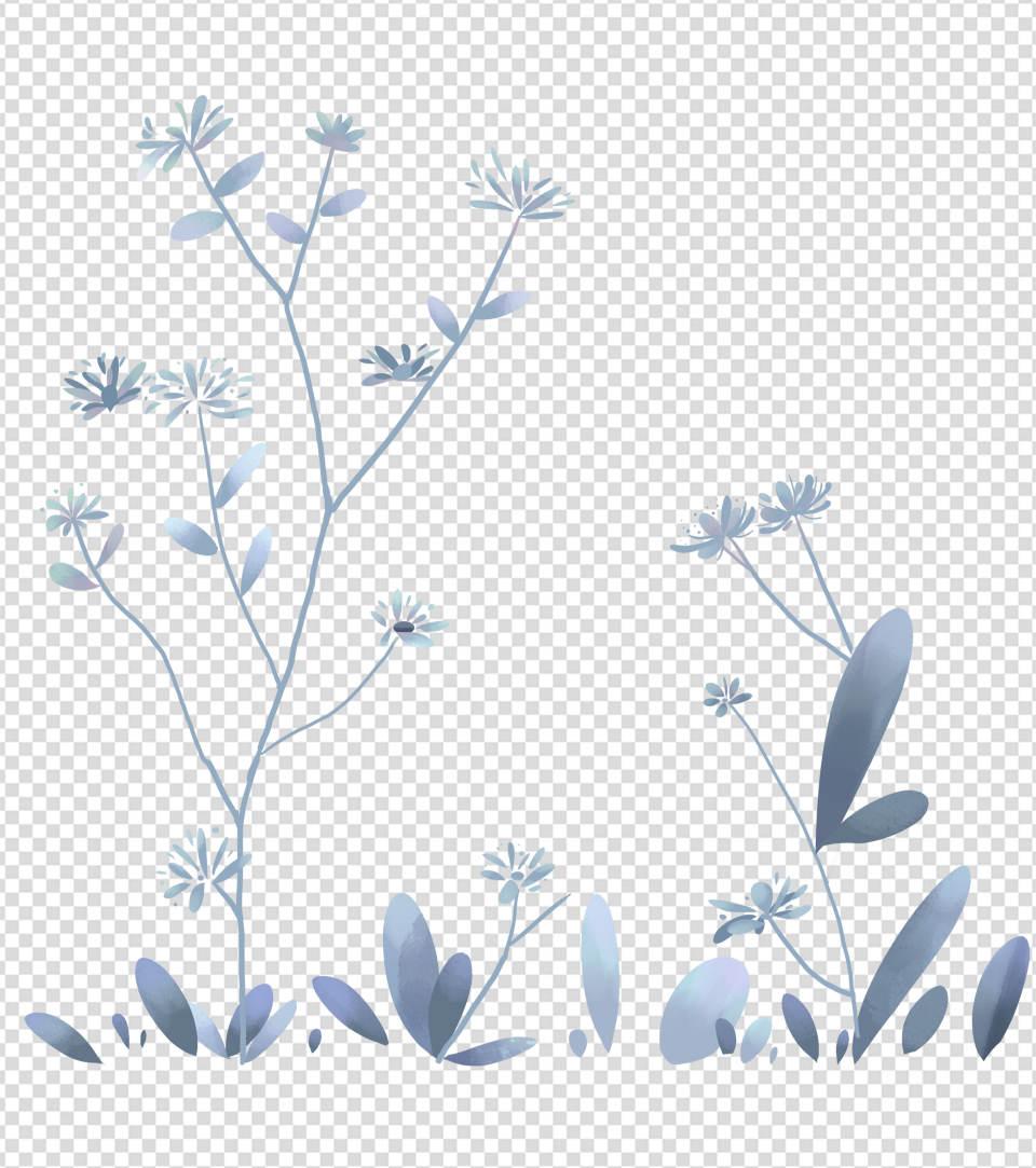 2362x2362pt_ppt手绘小清新花朵