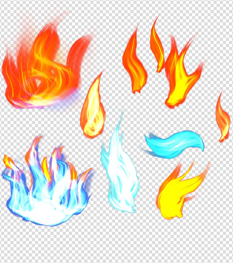 火焰效果元素