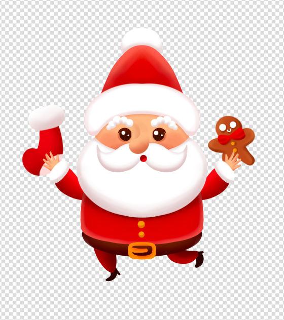 过节的圣诞老人